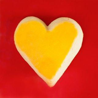 Weihnachtskarte: Mailänderli-Herz