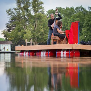 Karte: Floating Music, Dreiweihern