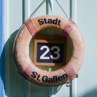 Karte: St.Gallen Dreiweihern 23 Grad