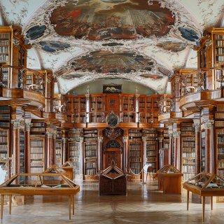Karte: Stiftsbibliothek St.Gallen