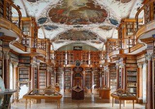 Faltkarten: Stiftsbibliothek St.Gallen