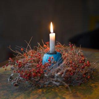 Weihnachtskarte: Ein Lichtlein brennt