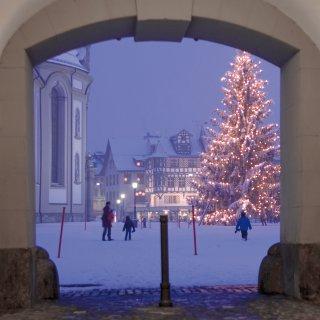 Faltkarten: Durchgang zum Kloster St.Gallen