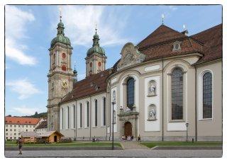 Postkarte: Kathedrale St.Gallen