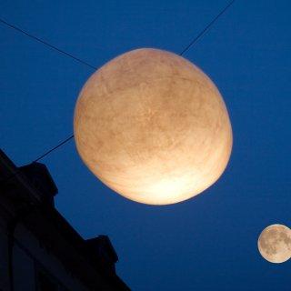 Faltkarte: Mondschein im Bleicheli