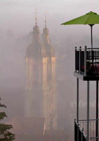 Faltkarten: St.Gallen im Morgenlicht