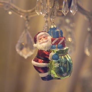 Karte: Weihnachtsschmuck Nikolaus