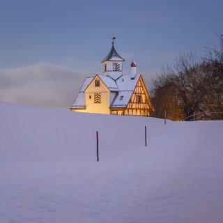 Karte: Winterweg zur Falkenburg