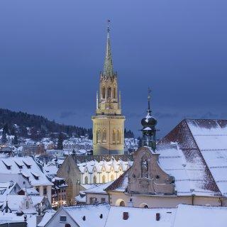 Karte: St.Laurenzen im Winter