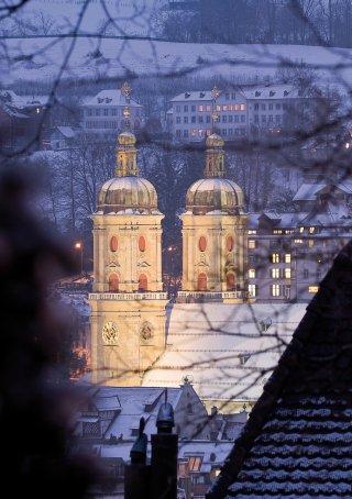Faltkarten: Blick zum Kloster