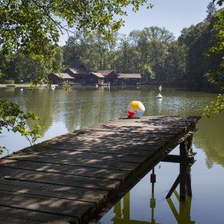 Faltkarte: Sommer im Familienbad St.Gallen