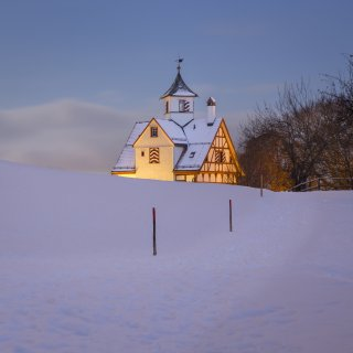 Faltkarte: Winterweg zur Falkenburg