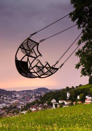 Faltkarten: St.Gallen im Aufschwung, Solitüde