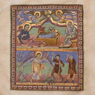Karte: Prachtssakramentar aus dem 11. Jahrhundert, Stiftsbibliothek St.Gallen