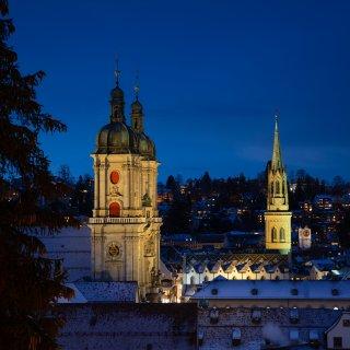 Faltkarten: Kirchen Altstadt St.Gallen