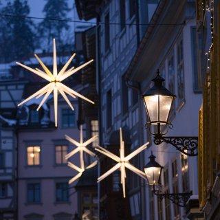 Faltkarten: Lichter am Gallusplatz