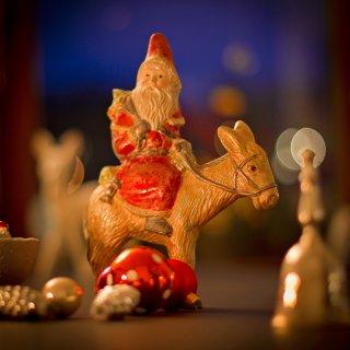 Weihnachtskarte: Samichlaus