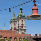 Karte: Summertime in St.Gallen